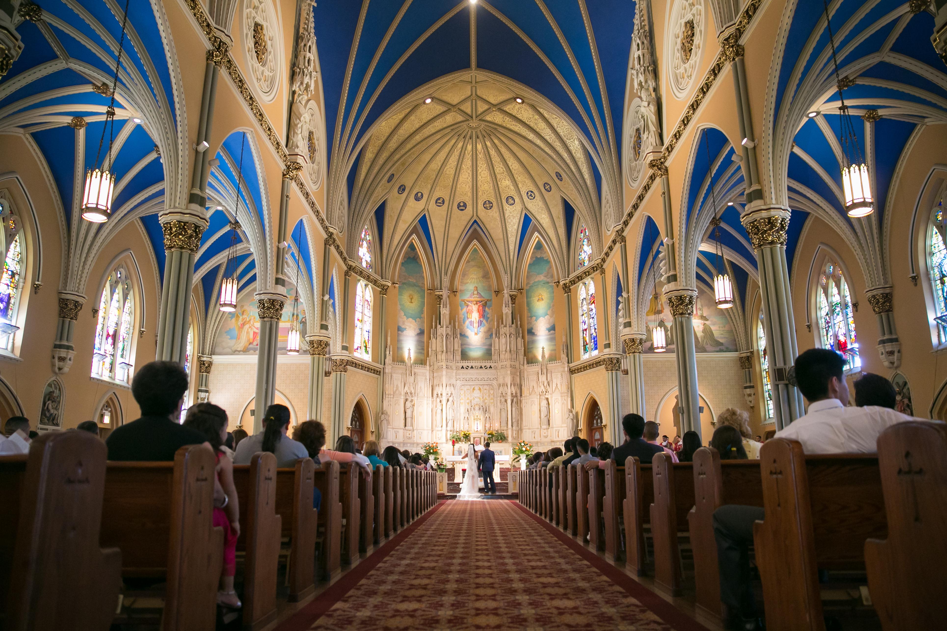 St. Alphonsus Church Wedding