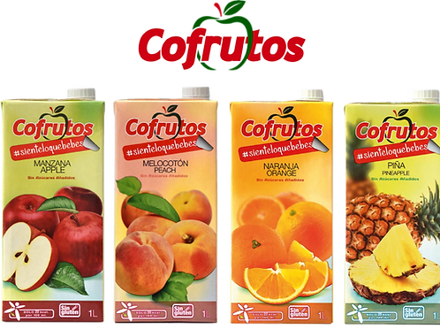 Néctares 50% Fruta sin azúcar añadida