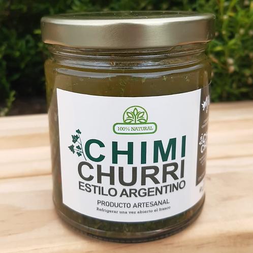 Chimichurri estilo argentino