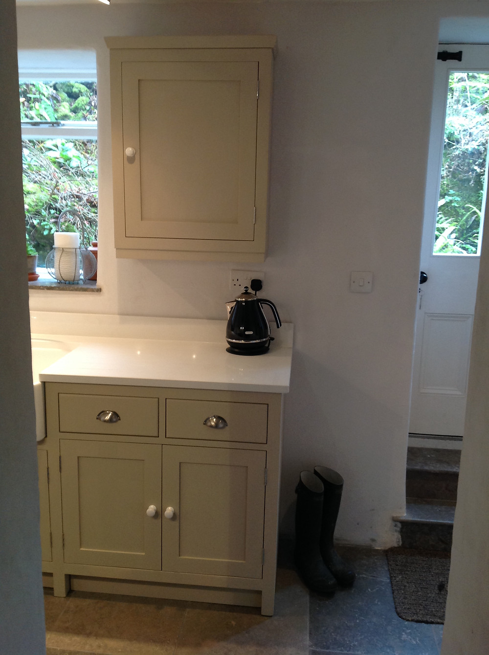Handmade Shaker Kitchens , made near Matlock.