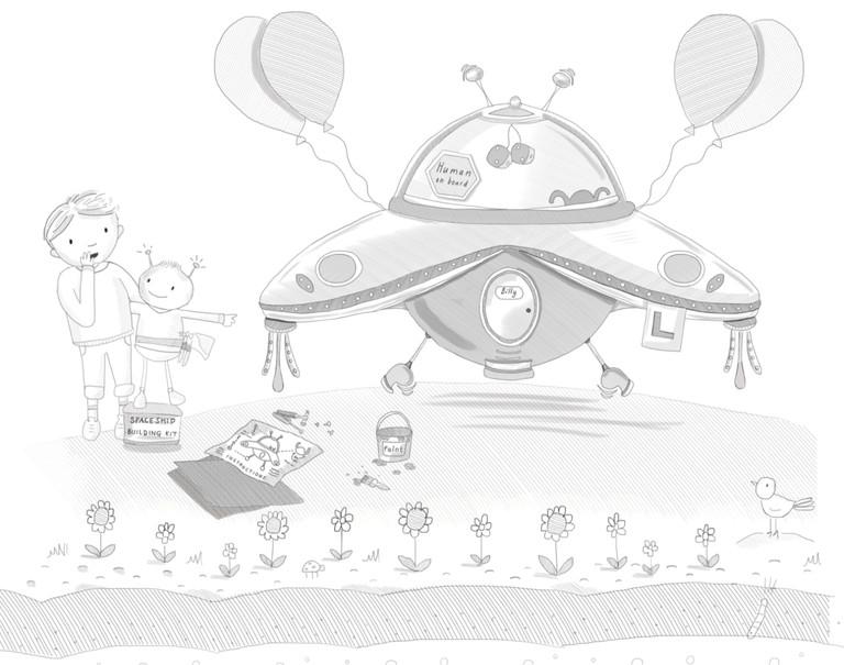 Zoom the Alien's Spaceship