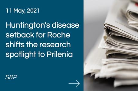 Huntington's disease setback for Roche shifts the research spotlight to Prilenia