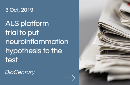 BioCentury - ALS platform trial to put neuroinflammation hypothesis to the test