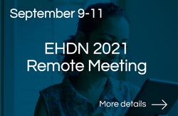 EHDN 2021 Remote Meeting