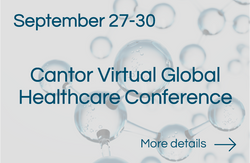Cantor Virtual Global Healthcare Conference