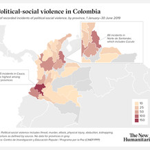Political-social violence in Colombia