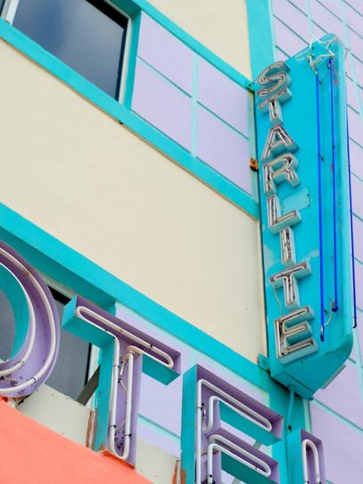 The Starlite, a hotel in Miami Beach, Florida.