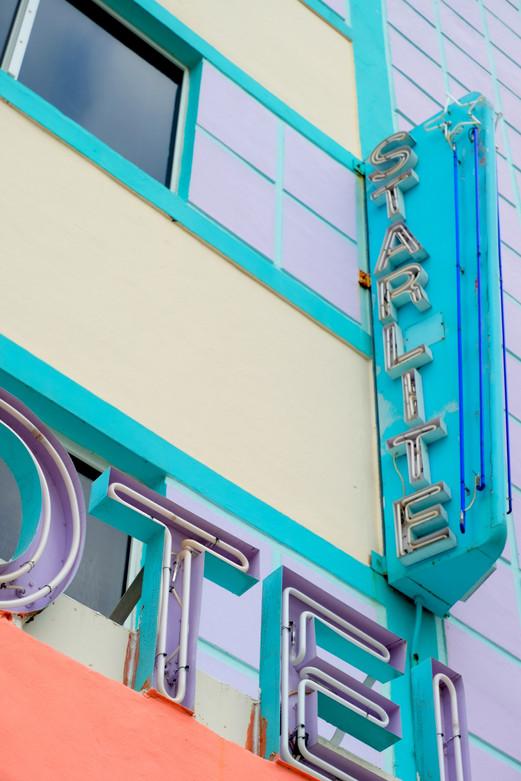 Starlite Hotel in Miami Beach, Florida.