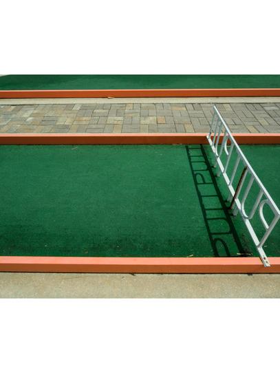 A putt-putt course in Fernandina Beach, Florida.