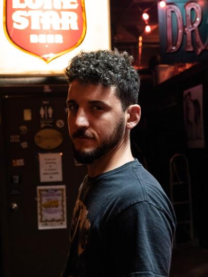 Joe, at Will's Pub in Orlando, Florida, in 2021.