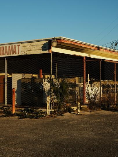 A laundromat in Sanford, Florida.