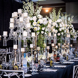We just love our Kings tables! _With the combination of Crystal & Gold