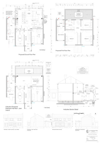 4 BREGS section plan elevations - A1 - 1