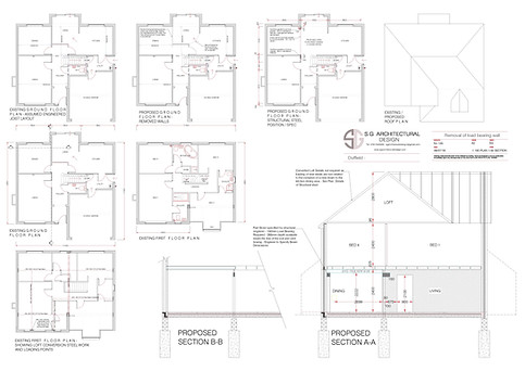 Duffield - Structural Drawings for new B