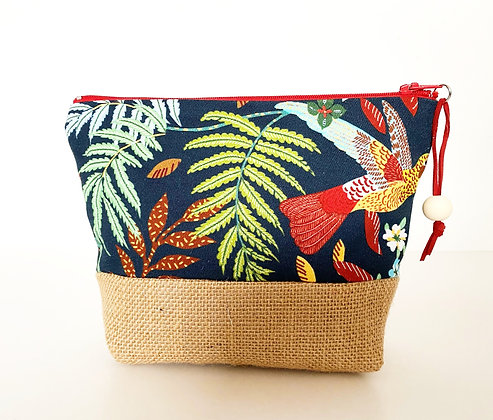 trousse jute jungle