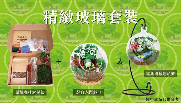 原始森林 DIY 盆景素材包(細) (連自選玻璃瓶)