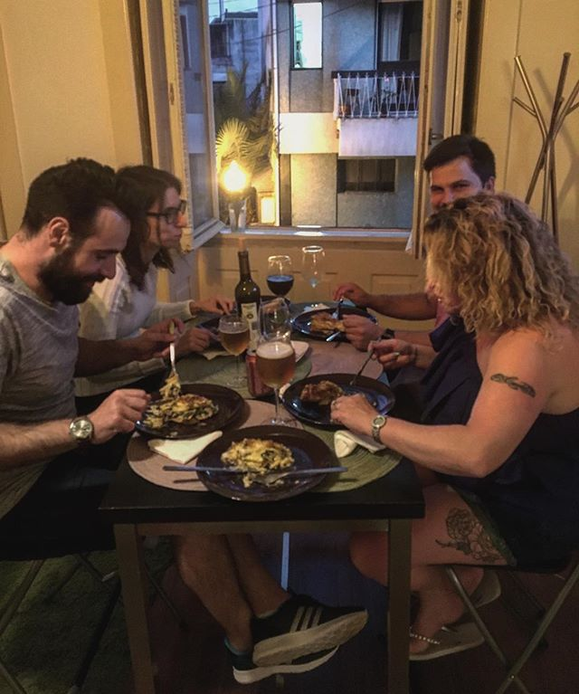 Friends #priceless #thepurpledoorsupperclub #porto #holiday #home #portugal #food #foodie #dinnerpar