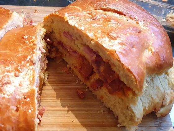 Folar de Carnes de Páscoa ❦ Portuguese Easter Bread with Meats