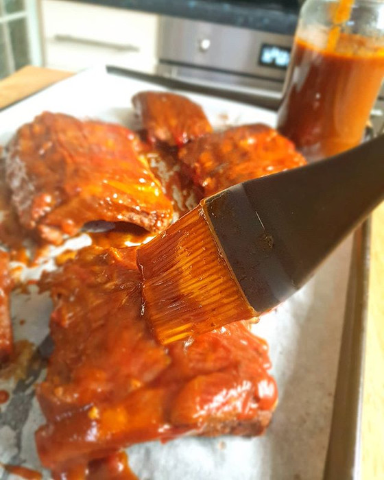 Slow Cooker Coca-cola Baby Back Ribs with Homemade BBQ Sauce