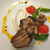Pork Belly with Espresso & Spice Dry Rub  ❦ Entremeada de Porco com Crosta de Café e Especiarias