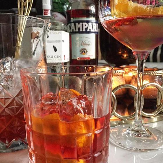 Negroni Classic Cocktail