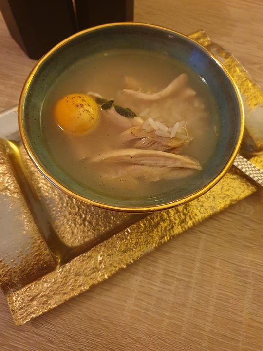 Canja de Galinha ❦ Portuguese Chicken Soup           (Bone Broth)