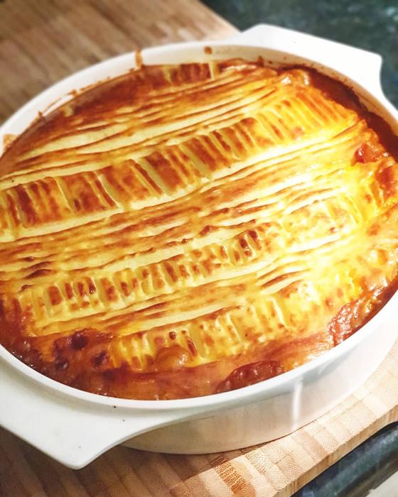 Empadão de Carne ❦ Portuguese Cottage Pie