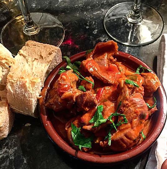 Moelas Guisadas ❦ Portuguese Chicken GizzardStew