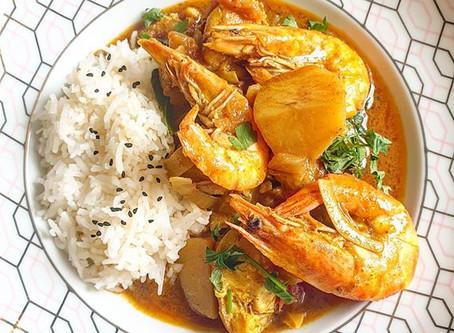 Easy Goan Inspired Fish Curry