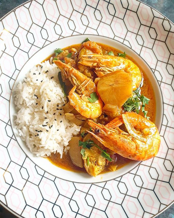 Easy Goan Inspired Fish Curry
