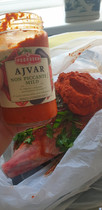 Braised Leg of Lamb with Red Wine & Ajvar