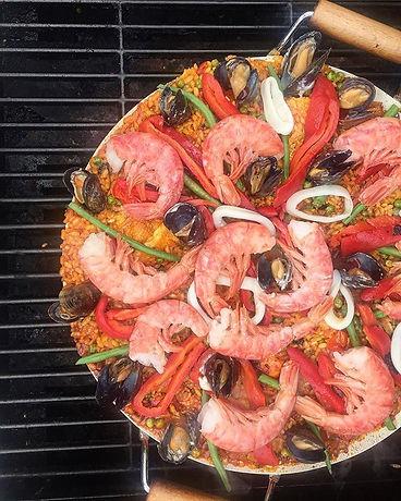 My famous #paella #socarrat #🥘 #sogood #thepurpledoorsupperclub #supperclub #delicious #foodporn #s