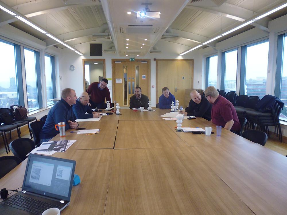Team Patera at the SHAW Balance workshop