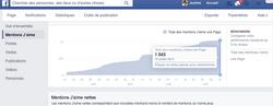 Reporting Facebook