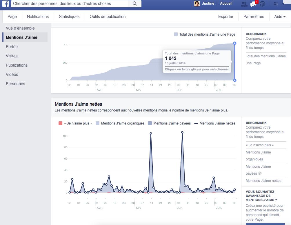 Reporting Facebook +