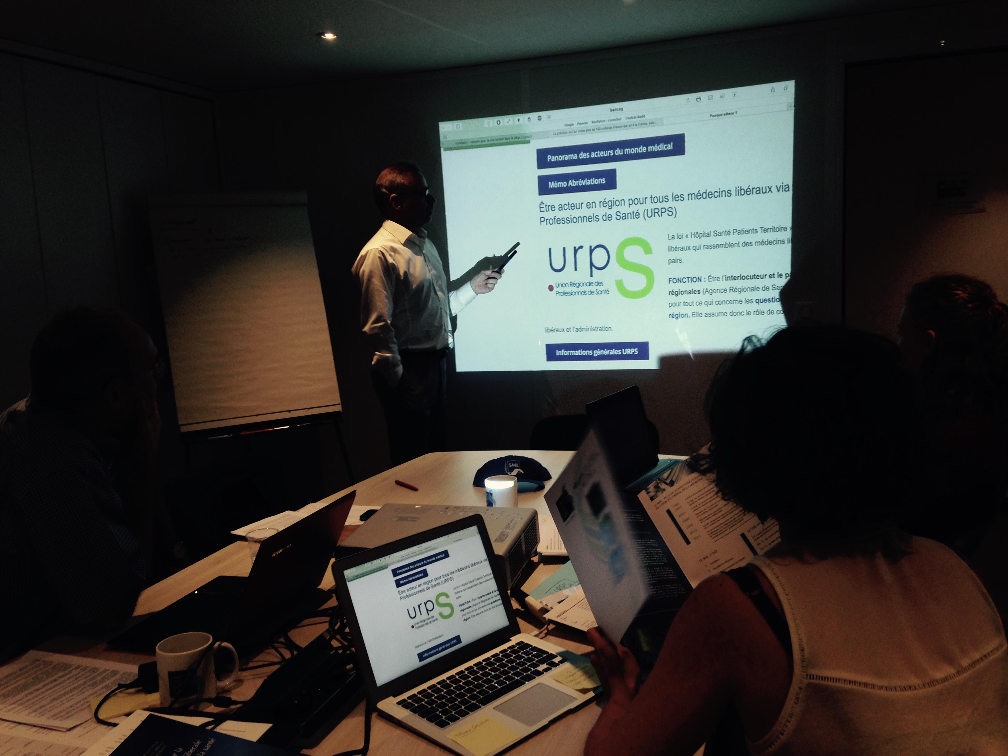 Réunion - Objectif URPS 2015