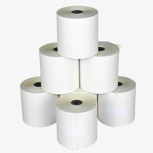 """Kitchen Printer Paper Double Ply (3"""") 12 Pack"""