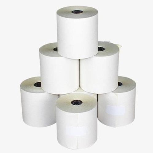 "Kitchen Printer Paper Single Ply (3"") 12 Pack"