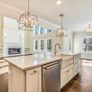 Stockton Kitchen and Living Space