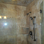 Lakeview Master Shower