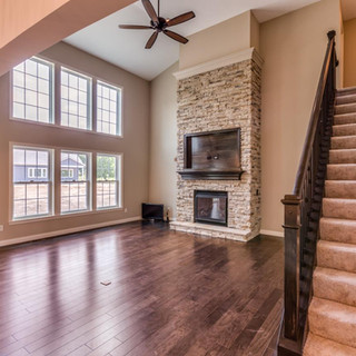 Stockton Living Room and Stairway