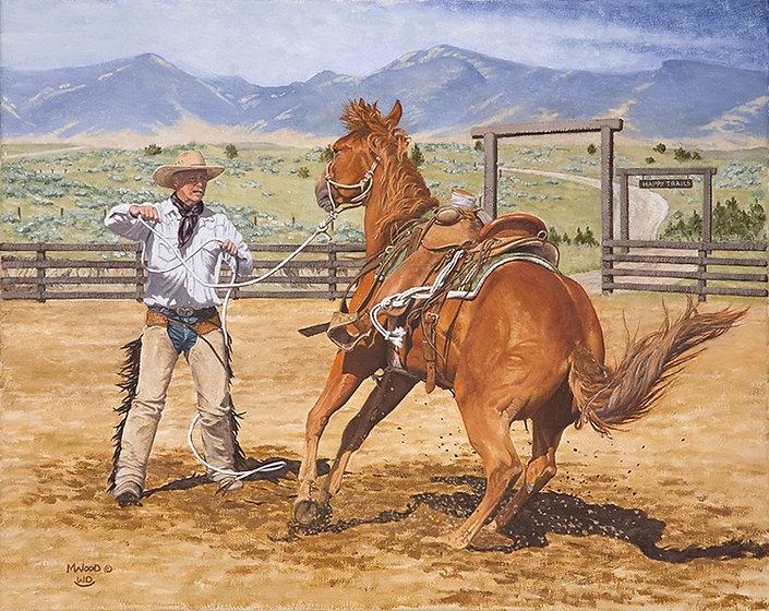 Fractious Colt