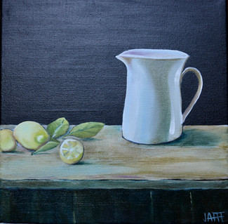 Pitcher with Limes