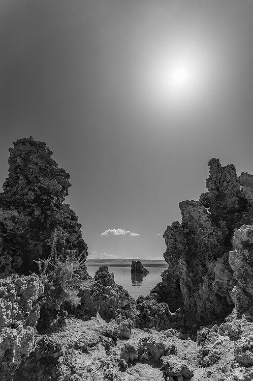 Tufa Under the Sun   Digital Image