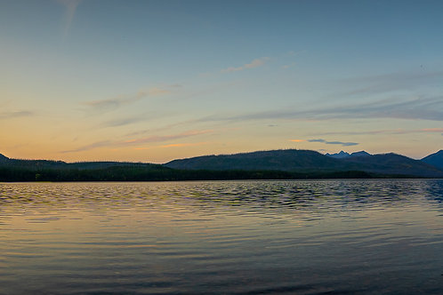 Panoramic Sunset   Digital Image