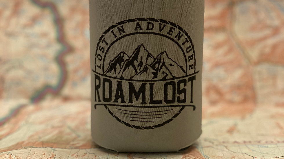 "RoamLost ""Lost in Adventure"" Koozie"