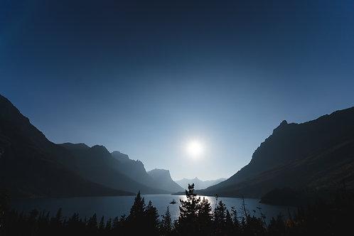 Setting Sun | Digital Image