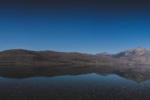 Panoramic of the Lake   Digital Image