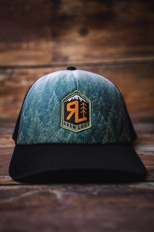 RL BADGE FOREST FOAM TRUCKER HAT