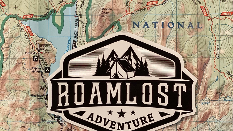 RoamLost (Adventure) Sticker